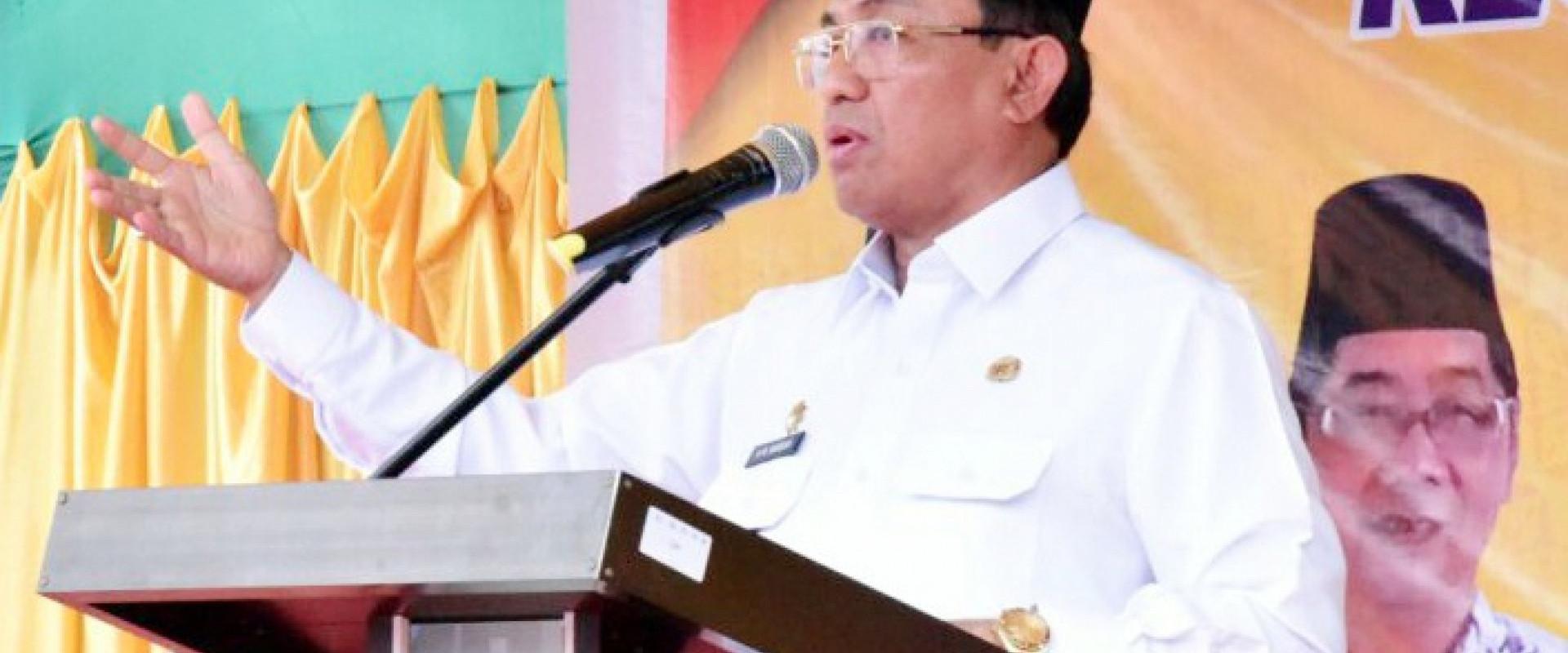 Bupati Inhil ; Apresiasi Progres Pembangunan Ruas Jalan Tempuling - Tembilahan.