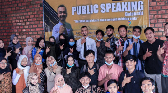 YICB Gelar Pelatihan Public Speaking